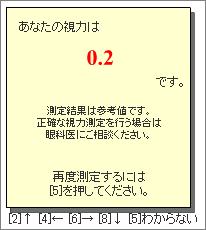 視力測定2