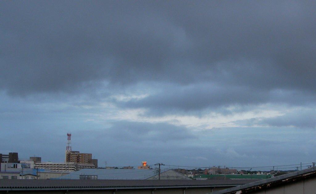 どんよりした雲