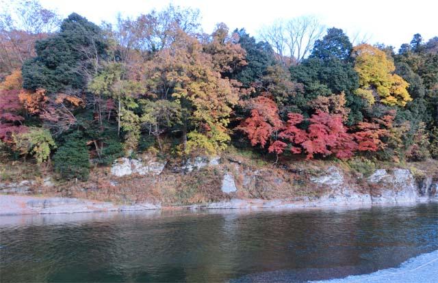 長瀞紅葉風景